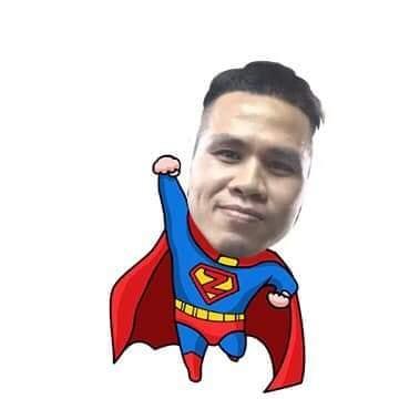"""Anh Mạnh được nhiều người ví là """"superman"""" (Ảnh: Tiin)"""