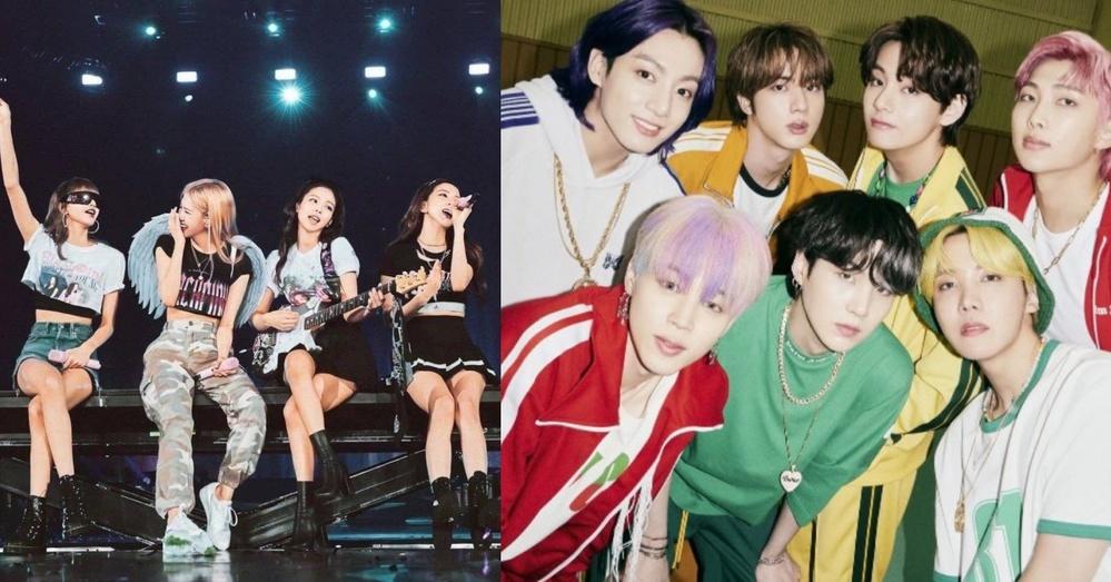 """Các nhóm nhạc K-pop thành công bất ngờ đều có chữ """"B"""" trong tên. (Ảnh: Twitter)"""