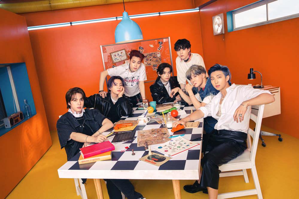 Nhóm nhạc toàn cầu BTS là cái tên nổi bật nhất hiện nay của làng giải trí K-pop. (Ảnh: Twitter)