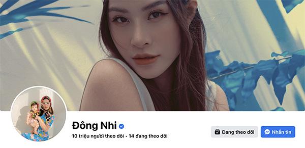Đông Nhi vui mừng thông báo fanpage được 10 triệu lượt theo dõi. (Ảnh: Chụp màn hình) - Tin sao Viet - Tin tuc sao Viet - Scandal sao Viet - Tin tuc cua Sao - Tin cua Sao