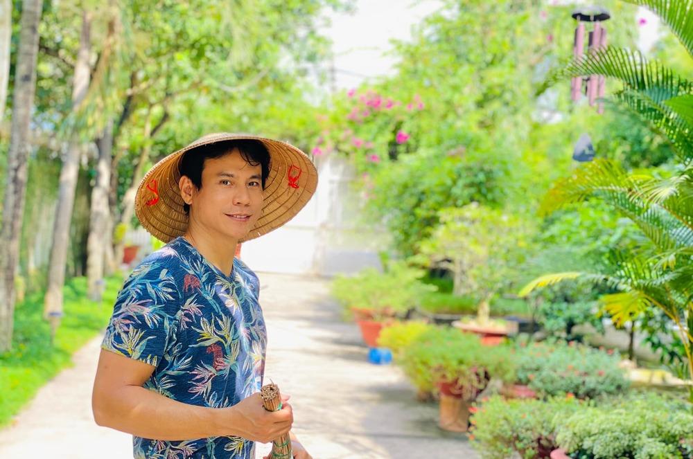 Trí Quang và cuộc sống giản dị ở nhà vườn rộng lớn. - Tin sao Viet - Tin tuc sao Viet - Scandal sao Viet - Tin tuc cua Sao - Tin cua Sao