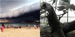 Nước Úc bàng hoàng sơ tán khỏi cơn bão nghiêm trọng nhất thập kỷ