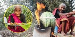 Chảy nước miếng với món ăn của cụ bà đầu bếp 106 tuổi trên youtube