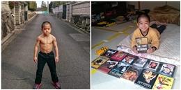 Choáng ngợp trước cơ bắp của Lý Tiểu Long phiên bản 7 tuổi