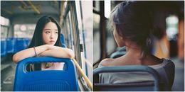 Thế giới khác bình yên sau cửa kính của mỗi chuyến xe bus