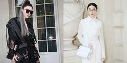 Phạm Băng Băng làm 'chao đảo' Tuần lễ thời trang Paris chỉ với sắc đen trắng
