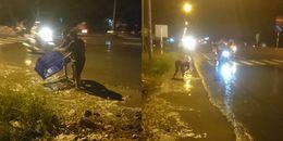 500 kg cá đổ xuống đường, người dân bắt giúp tài xế không mất 1 con