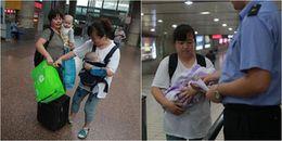 Sự thật đằng sau câu chuyện người phụ nữ thường lên xuống tàu với nhiều em bé khác nhau