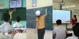 Thầy cô của chúng mình không chỉ khô khan, nghiêm túc mà có lúc