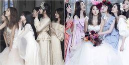 Chỉ là hình cưới thôi mà cựu thành viên After School lại mời toàn những phụ dâu xinh đẹp, chân dài