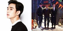 Kim Soo Hyun 'nguỵ trang' kín mít đi chơi cùng hội bạn thân trước thềm nhập ngũ