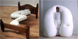 Bạn sẽ không thể hiểu được những cái giường này sinh ra để làm gì đâu, có phải để nằm ngủ không nhỉ?