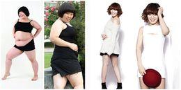 Từ 103kg giảm xuống 51kg trong 5 tháng, cô gái trở thành