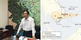 Bộ trưởng Nông nghiệp: Cảnh giác nguy cơ lũ chồng lũ do bão số 12