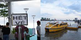 """5 bến buýt sông Sài Gòn """"cháy vé"""" , người dân vẫn quyết chờ được trải nghiệm"""