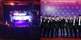 Sân khấu MAMA 2017 ở Việt Nam có gì hot trước giờ biểu diễn?