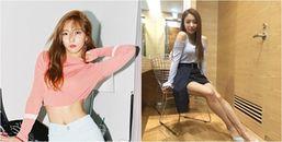 Chân thon gọn chỉ nhờ một dụng cụ đơn giản: Tuyệt chiêu của cô ca sĩ Hàn Quốc