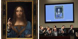 Sau 2 ngày được bán với giá 450 triệu USD, bức tranh 'Đấng cứu thế' bất ngờ bị nghi là hàng giả