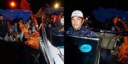 Vượt biển cứu 150 ngư dân kẹt bão trong đêm