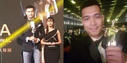 HOT: Trương Thế Vinh bất ngờ đoạt giải diễn viên triển vọng PIFFA 2017 ở Malaysia