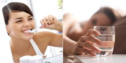Giải mã câu hỏi: Uống nước hay đánh răng sau khi thức dậy?