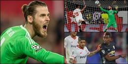ĐIỂM NHẤN SEVILLA 0 - 0 Man United: 'Đại thánh' De Gea cứu nguy cho Quỷ đỏ!
