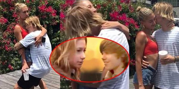 """Sau tin cầu hôn, fan """"đào mộ"""" khoảnh khắc Justin Bieber lần đầu gặp vợ chưa cưới Hailey 10 năm trước"""