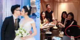 Á hậu Tú Anh tái xuất sau đám cưới, lộ vòng 2 lùm lùm như mang thai 5 tháng?