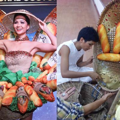 Sau những tranh cãi, trang phục dân tộc Bánh mì của H'Hen Niê bị chỉnh sửa phút chót