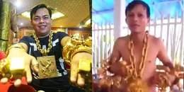 Xuất hiện đại gia đeo vàng khiến Phúc XO phải gọi bằng cụ:
