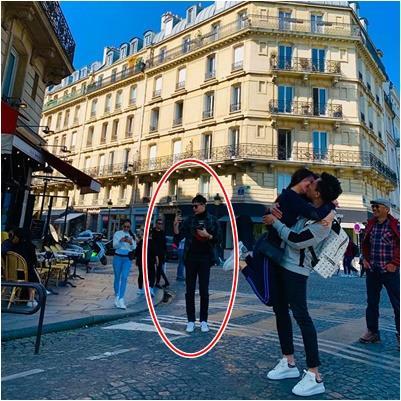 yan.vn - tin sao, ngôi sao - Trấn Thành - Hari Won hôn nhau đắm đuối ở Paris nhưng spotlight thuộc về Trịnh Thăng Bình