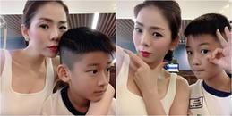 yan.vn - tin sao, ngôi sao - Con trai Lệ Quyên 8 tuổi ra dáng chuẩn soái ca nhí, lớn phổng phao