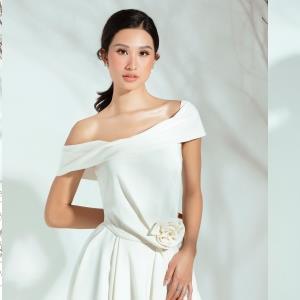 yan.vn - tin sao, ngôi sao - Vừa ghi danh ở Hoa hậu Hoàn vũ Việt Nam 2019, Phạm Anh Thư trở thành 'nàng thơ' của NTK Đỗ Long