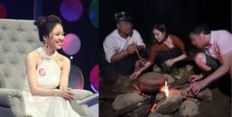 yan.vn - tin sao, ngôi sao - Hot girl Trâm Anh trở lại, ăn mặc hớ hênh trong game show thực tế