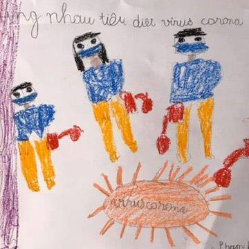 yan.vn - tin sao, ngôi sao - Học sinh lớp 1 ở Hà Nội viết tâm thư xúc động gửi các bạn ở Vĩnh Phúc