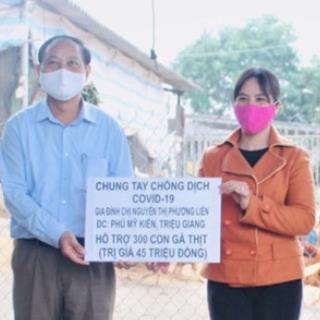 yan.vn - tin sao, ngôi sao - Hộ dân Quảng Trị ủng hộ chống Covid-19: Tặng gà vì 'có gì cho nấy'