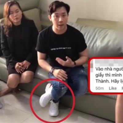 yan.vn - tin sao, ngôi sao - Chất vấn kẻ tung tin giả, Trấn Thành bị ý kiến việc đi giày trong nhà