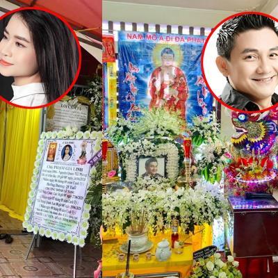 yan.vn - tin sao, ngôi sao - Đám tang sao Việt: Người ảm đạm, người đông đúc đồng nghiệp đến viếng