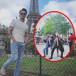 yan.vn - tin sao, ngôi sao - TiTi khoe ảnh ở tháp Eiffel, bị phát hiện từng đi chung Nhật Kim Anh