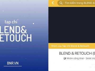 Group nhiếp ảnh lớn nhất Việt Nam Blend & Retouch chính thức dời sang nhà mới