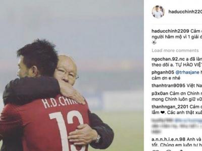 Các cầu thủ nói lời cảm ơn và xin lỗi sau trận thua UAE, fan xúc động đáp lại quá bất ngờ